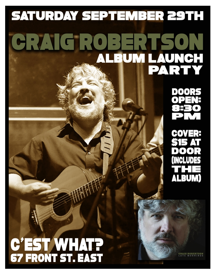 craig launch poster